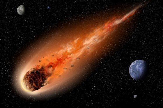 "Little note - this weekend's asteroid won't ""flame on"" unless it hits the atmosphere, which NASA says is unlikely. Still pretty doggone close, though...."