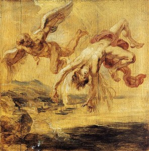 The Fall of Icarus, by Peter Paul Rubens