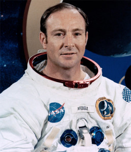 Edgar Mitchell. Photo courtesy of NASA.
